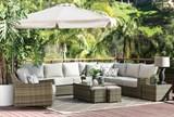 Outdoor Aventura Swivel Chair - Room
