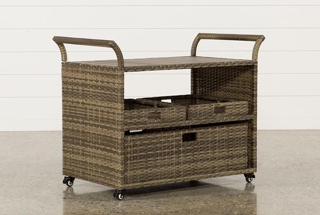Outdoor Aventura Bar Cart - 360