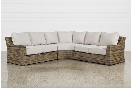 Outdoor Aventura 3 Piece Sectional - Main