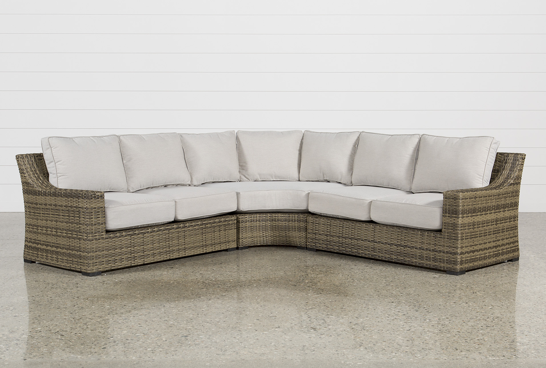 Outdoor Aventura 3 Piece Sectional