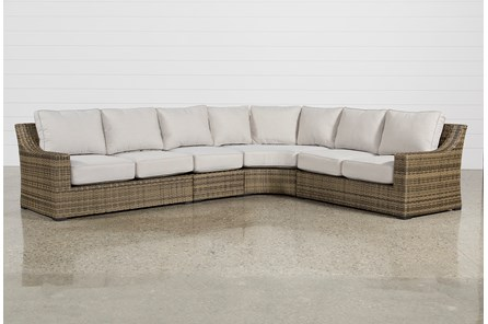 Outdoor Aventura 4 Piece Sectional - Main