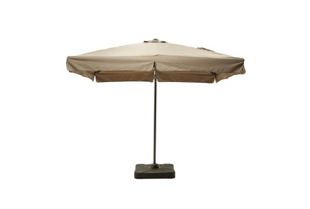 Outdoor Cantilever Coffee Umbrella W/Base