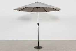 Outdoor Neutral Parasol Umbrella