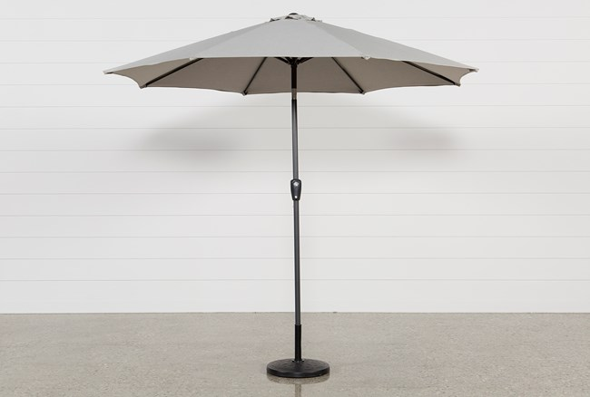 Outdoor Neutral Parasol Umbrella - 360