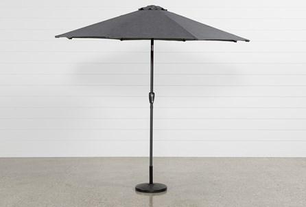 Outdoor Grey Parasol Umbrella