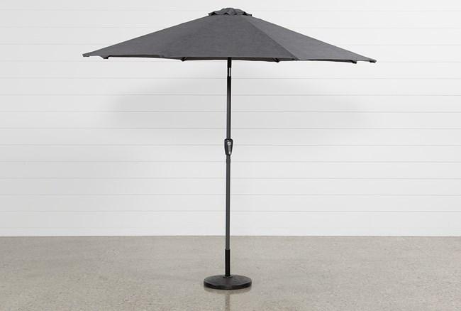 Outdoor Grey Parasol Umbrella - 360