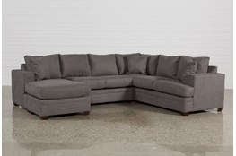 Kerri Charcoal 2 Piece Sectional With Left Arm Facing Chaise