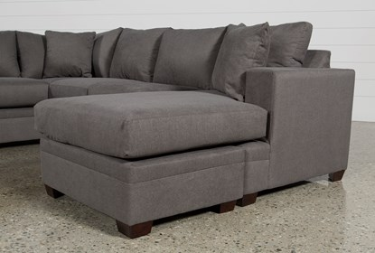 Pleasant Kerri Charcoal 2 Piece Sectional With Right Arm Facing Chaise Forskolin Free Trial Chair Design Images Forskolin Free Trialorg