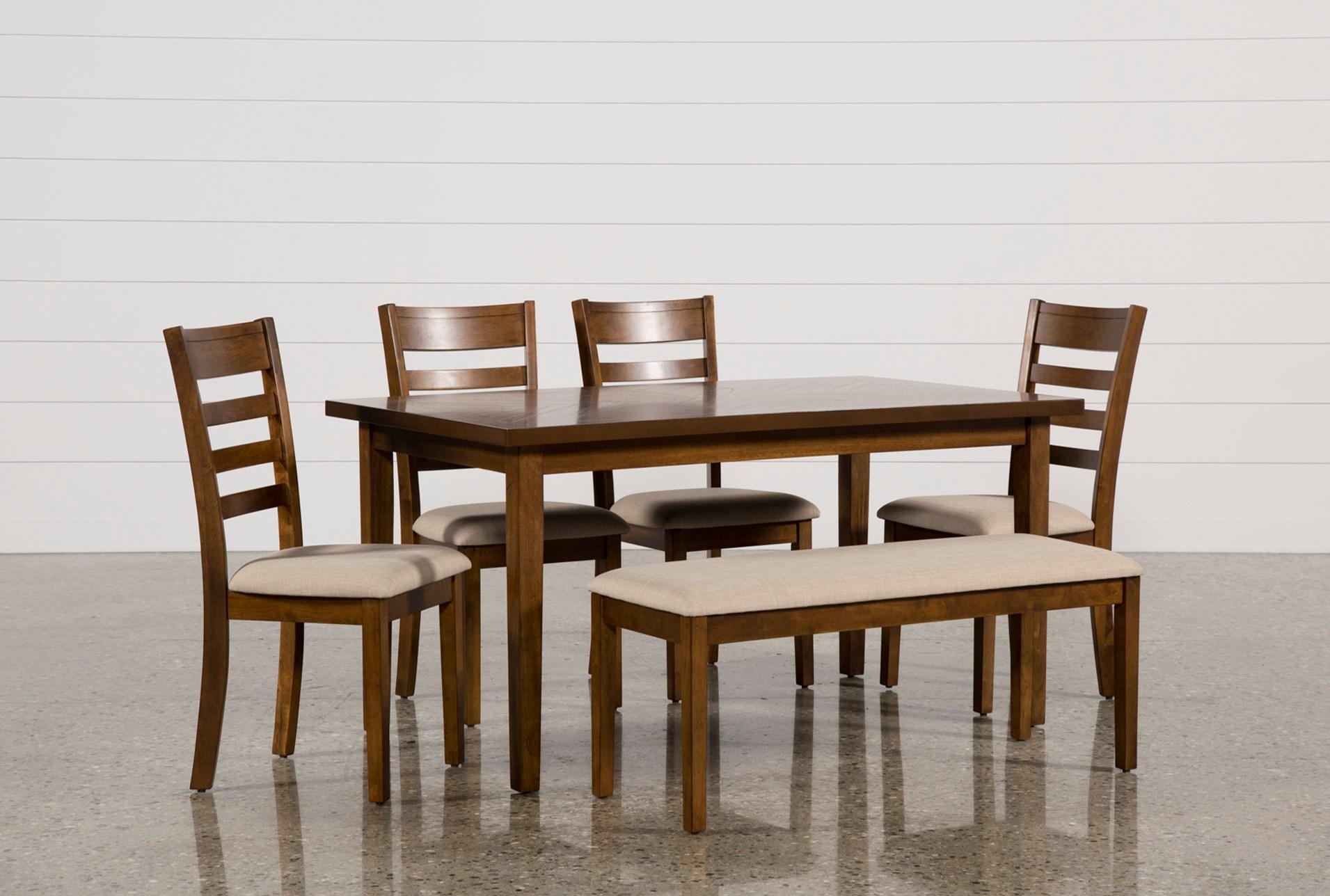 Patterson 6 Piece Dining Set Living Spaces