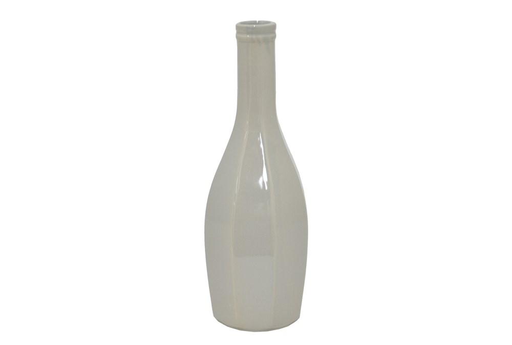 13 Inch Grey Vase