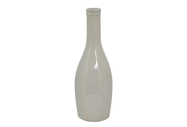 13 Inch Grey Vase - 360