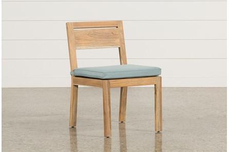 Outdoor Antigua Teak Armless Dining Chair - Main