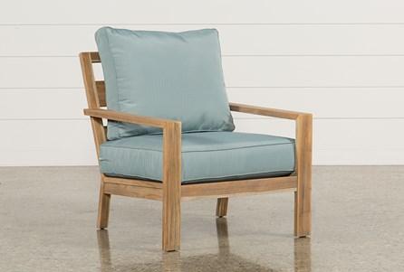 Outdoor Antigua Teak Lounge Chair