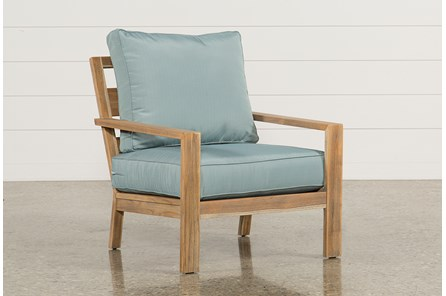 Outdoor Antigua Teak Lounge Chair - Main