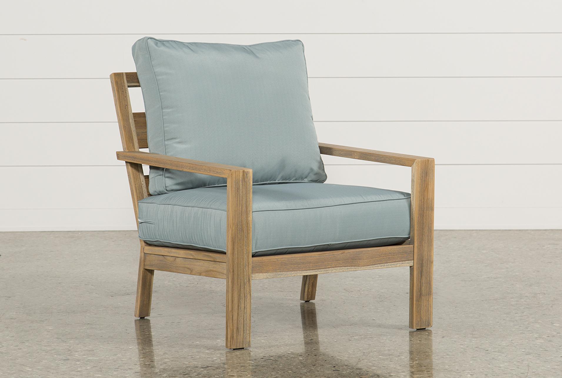 Outdoor Antigua Teak Lounge Chair   360