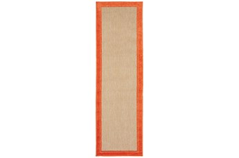 27X90 Outdoor Rug-Mandarin Double Border