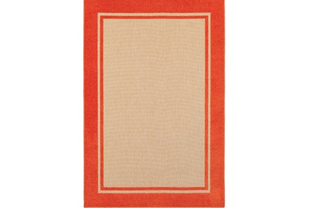 22X39 Outdoor Rug Mandarin Double Border