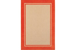 79X114 Outdoor Rug-Mandarin Double Border