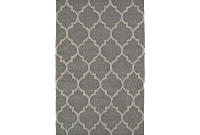 96X120 Rug-Pewter Moroccan - 360