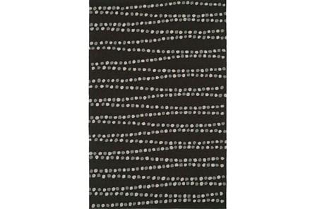42X66 Rug-Black Strands - Main