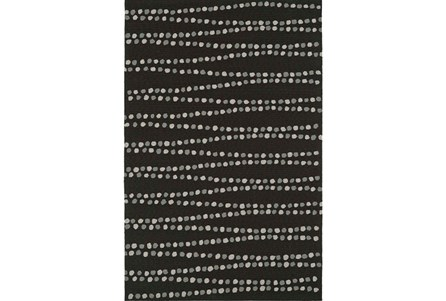 60X90 Rug-Black Strands