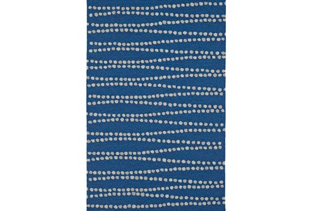 96X120 Rug-Navy Strands