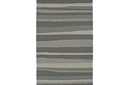 96X120 Rug-Grey Waves - Main
