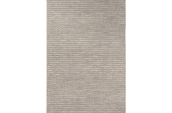 63X91 Outdoor Rug-Baltic Blue Rick Rack
