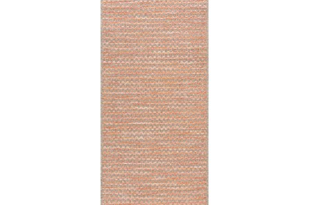 24X43 Rug-Orange Rick Rack