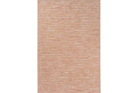 95X130 Outdoor Rug-Orange Rick Rack