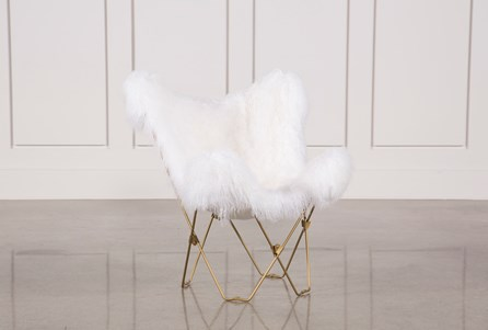 Butterfly White Chair