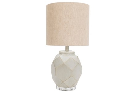 Table Lamp-Concrete Hexagons