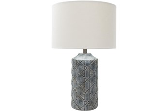 Table Lamp-Concrete Cane