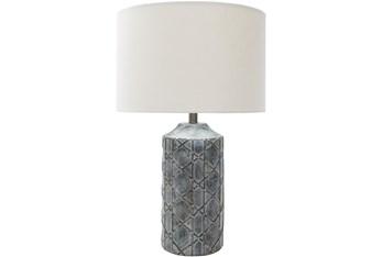 Table Lamp-Concrete Cane