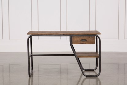 Natural Pine Wood 49 Inch Desk