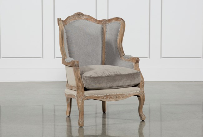 Oak Wood Chair - 360