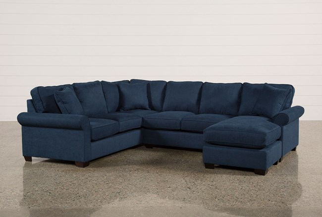 Quinn 2 Piece Sectional W/Raf Sofa/Chaise - 360