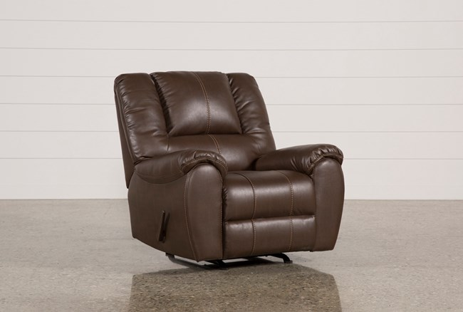 Spiro Brown Rocker Recliner - 360