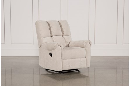 Sloan Grey Rocker Recliner