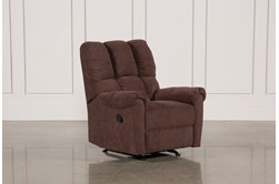 Sloan Chocolate Rocker Recliner