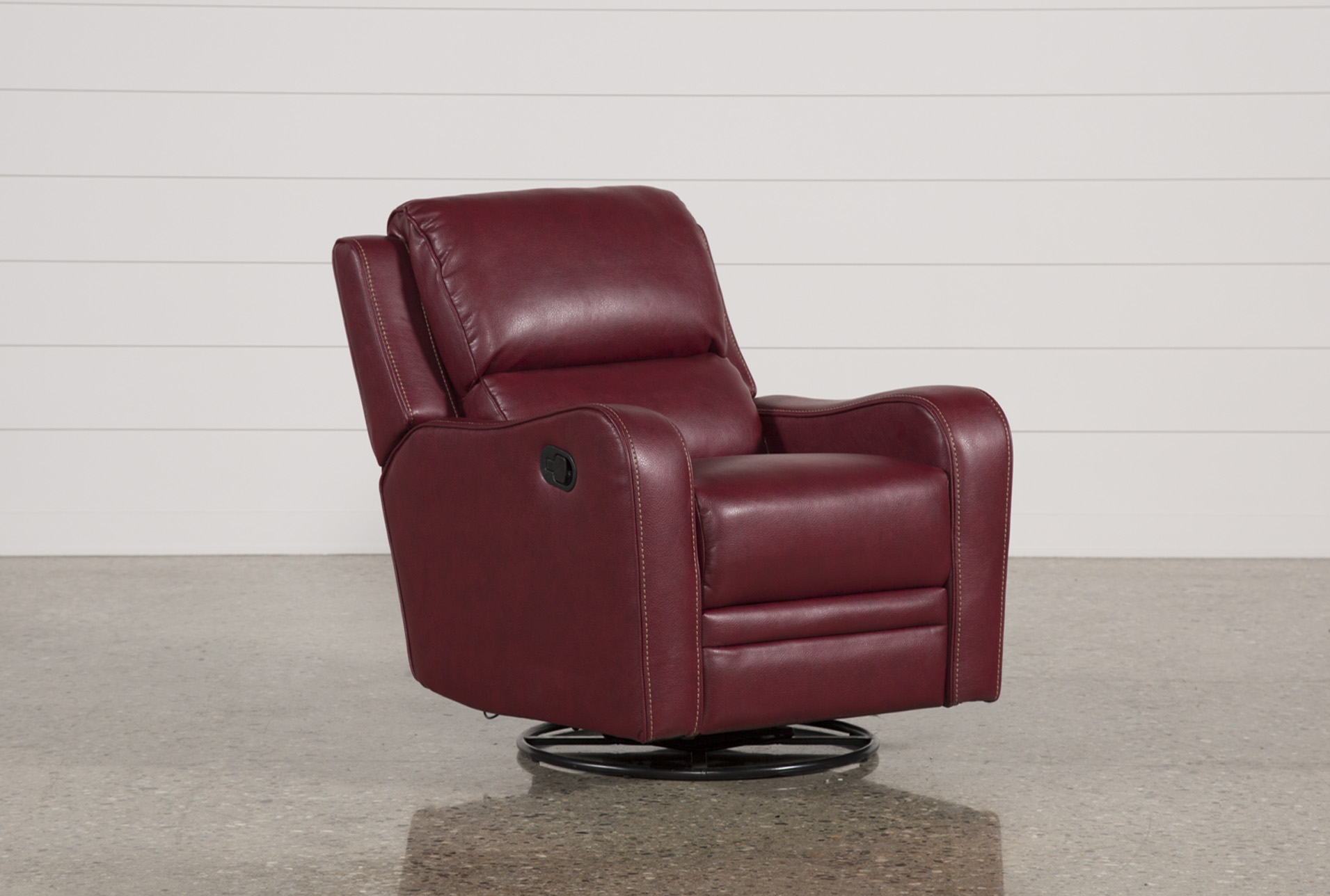 Genial Scorpio Red Swivel Glider Recliner (Qty: 1) Has Been Successfully Added To  Your Cart.