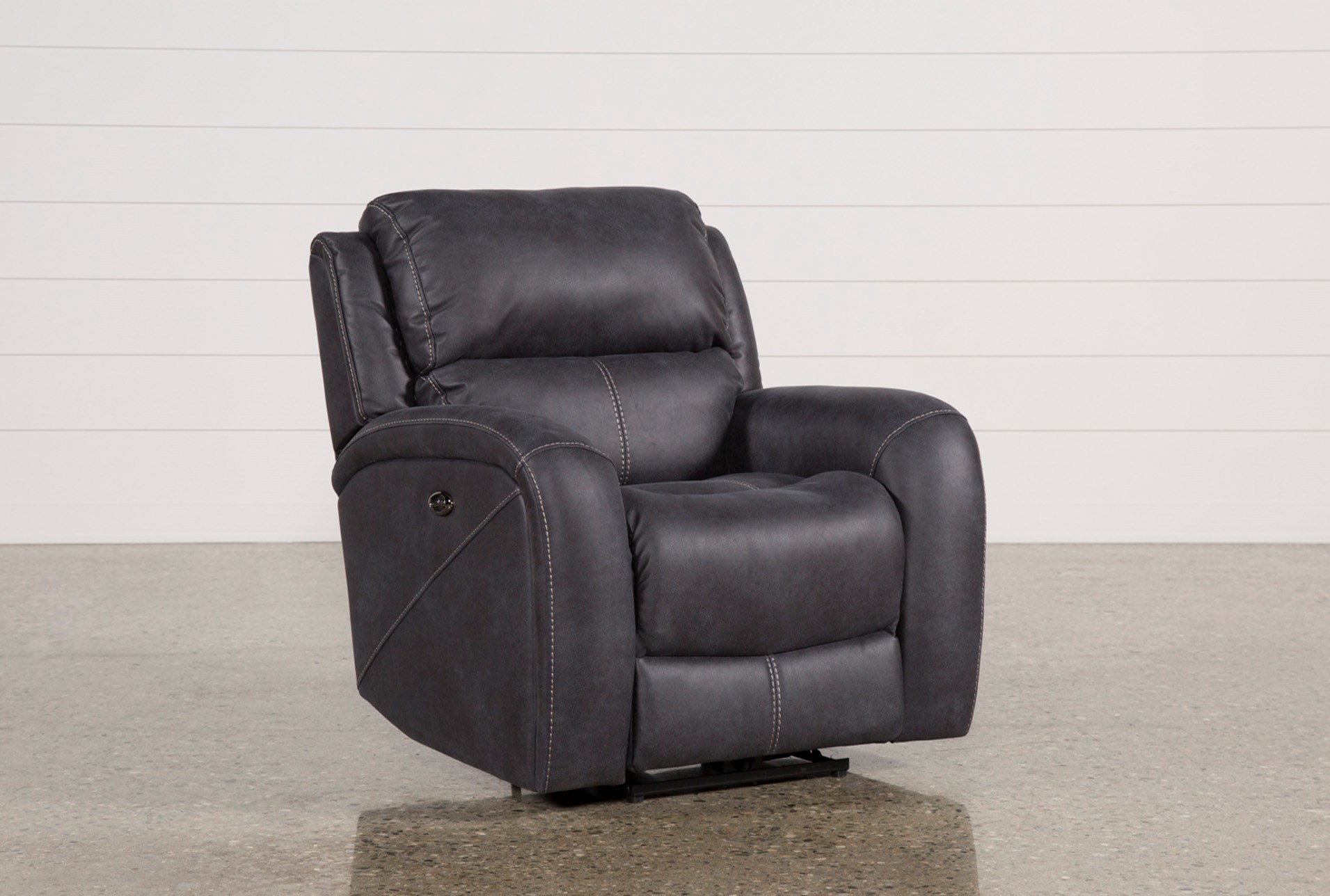 e20d28873004 Deegan Charcoal Power Recliner (Qty: 1) has been successfully added to your  Cart.