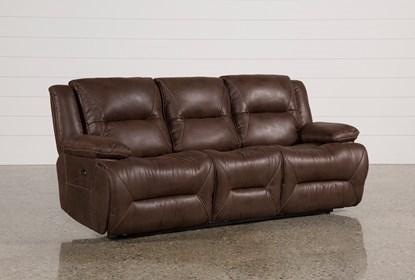 Magnificent Calder Brown Power Reclining Sofa Creativecarmelina Interior Chair Design Creativecarmelinacom