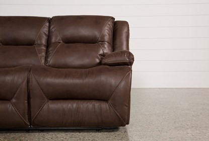 Superb Calder Brown Power Reclining Sofa Creativecarmelina Interior Chair Design Creativecarmelinacom