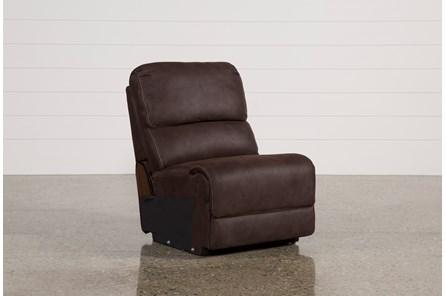 Norfolk Chocolate Armless Chair - Main