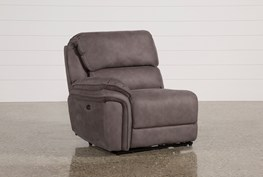 Norfolk Grey Left Facing Power Recliner