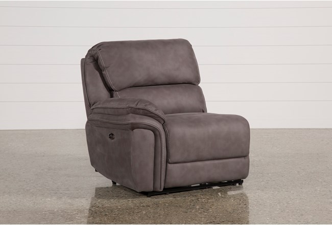 Norfolk Grey Laf Power Recliner - 360