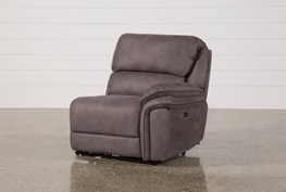 Norfolk Grey Right Facing Power Recliner