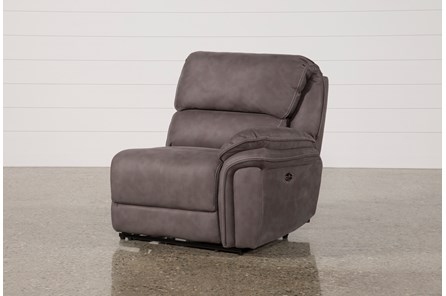 Norfolk Grey Right Facing Power Recliner - Main
