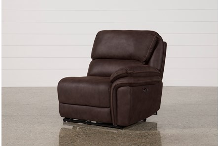 Norfolk Chocolate Right Facing Power Recliner - Main
